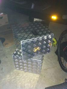 The lightweight aluminium toolbox